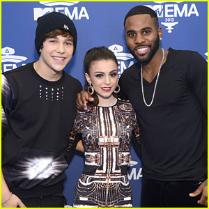 Austin Mahone Wins Artist on The Rise MTV EMAs 2013