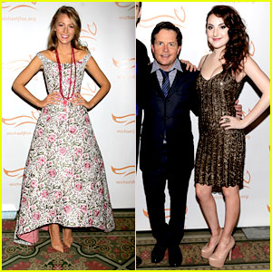 Blake Lively & Juliette Goglia: A Funny Thing Happened On The Way To Cure Parkinson's 2013