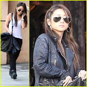 Brenda Song & Trace Cyrus: AllSaints Shopping Sweeties