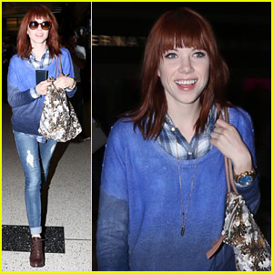 Carly Rae Jepsen: Back in L.A. After Paris Trip!