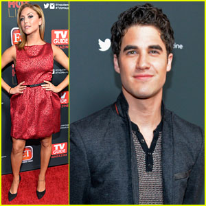 Cassie Scerbo & Darren Criss: 'TV Guide' Hot List Party 2013