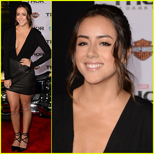 Chloe Bennet: 'Thor 2' Premiere & 'TV Guide' Hot List Party