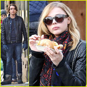 Chloe Moretz: Vancouver Christmas Market After 'If I Stay' Filming