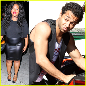 Amber Riley & Corbin Bleu: New 'Dancing with the Stars' Tonight!