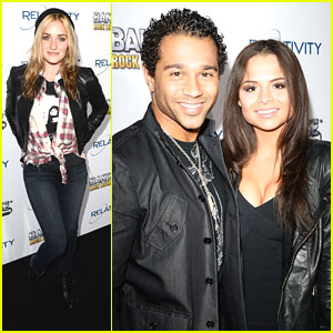 Corbin Bleu & Sasha Clements: BandFuse Video Game Launch