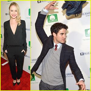 Darren Criss & Becca Tobin: Blue Jeans Go Green Celebration