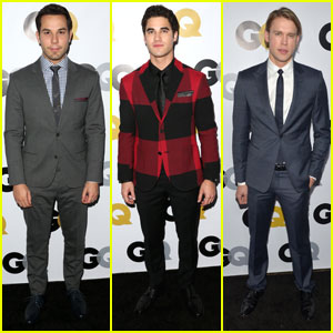 Darren Criss & Chord Overstreet: 'GQ' Party with Skylar Astin!
