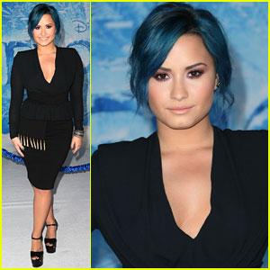 Demi Lovato: 'Frozen' Hollywood Premiere