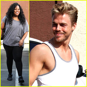 Derek Hough & Amber Riley: Rumba This Week!