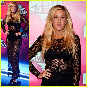 Ellie Goulding - MTV EMA 2013 Red Carpet
