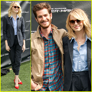 Emma Stone & Andrew Garfield: 'Amazing Spider-Man 2' Fan Event