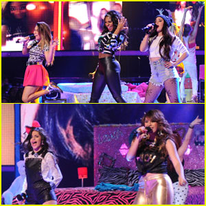 Fifth Harmony Performs 'Me & My Girls' on 'X Factor' - Watch Now!