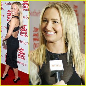 Hayden Panettiere: Jony & Marc's Red Auction