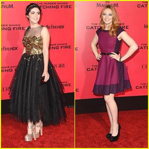 Isabelle Fuhrman & Jacqueline Emerson: 'Catching Fire' Premiere Pair