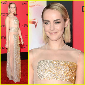 Jena Malone: Sheer Gold at 'Hunger Games: Catching Fire' L.A. Premiere