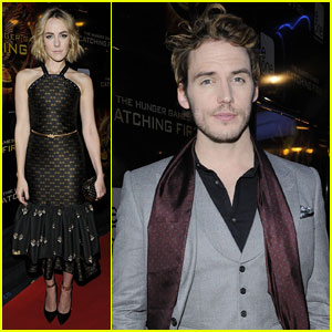 Jena Malone & Sam Claflin: 'The Hunger Games: Catching Fire' Toronto Premiere