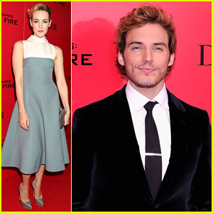 Jena Malone & Sam Claflin: 'The Hunger Games: Catching Fire' NYC Premiere