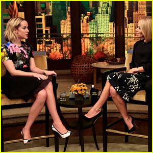 Jena Malone Talks 'Catching Fire' on 'Kelly & Michael'