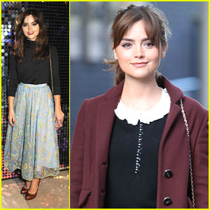 Jenna Coleman: 'Isabella Blow Fashion Galore' Exhibition Outing