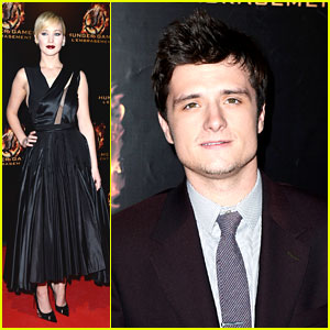 Josh Hutcherson: Jennifer Lawrence Was My 'First Big Movie Kiss'