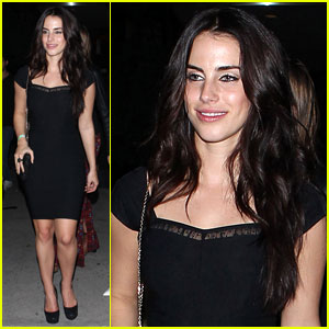 Jessica Lowndes: Post- Birthday Night Out at Bootsy Bellows!