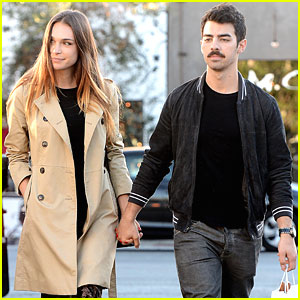 Joe Jonas Sports Mustache After Thanksgiving