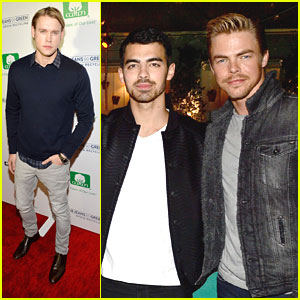 Joe Jonas & Chord Overstreet: Blue Jeans Go Green Celebration