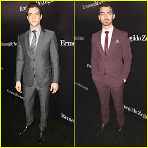 Joe Jonas & Ethan Peck: Ermenegildo Zegna Global Store Opening