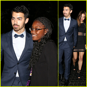 Joe Jonas: Fan Friendly Night Out with Blanda Eggenschwiler