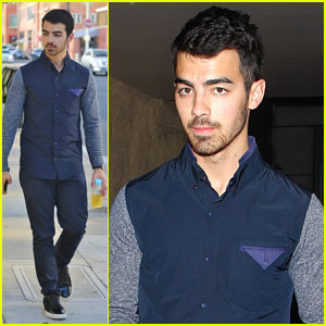 Joe Jonas: Juan Juan Salon Visit