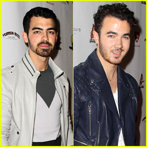 Joe & Kevin Jonas: Sunset Marquis Birthday Bash before Halo Awards!