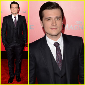 Josh Hutcherson: 'The Hunger Games: Catching Fire' L.A. Premiere