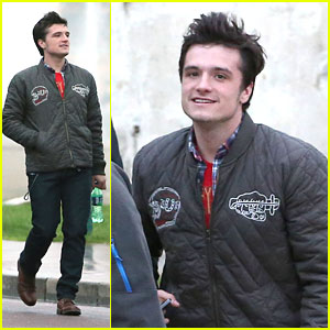 Josh Hutcherson: Paris Sightseer Before 'Catching Fire' Premiere