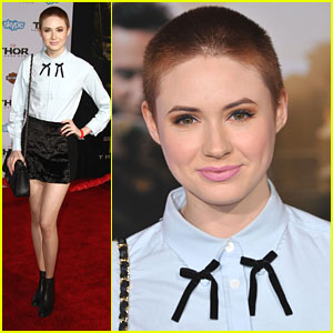 Karen Gillan: 'Thor: The Dark World' Premiere in Hollywood