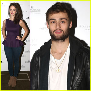 Kaya Scodelario & Douglas Booth: Old Vic's 24 Hour Celebrity Gala 2013