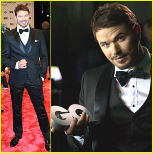 Kellan Lutz: GQ Men of the Year Awards 2013