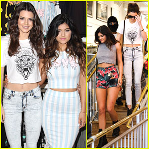 Kendall & Kylie Jenner: PacSun Store Appearance