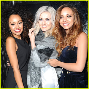 Little Mix Celebrate After 'X Factor' Performance