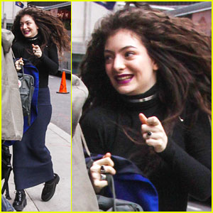 Lorde: 'Team' Performance on Letterman - Watch Now!