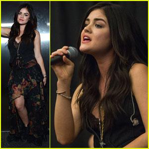 Lucy Hale: Nashville VIP Showcase Singer!