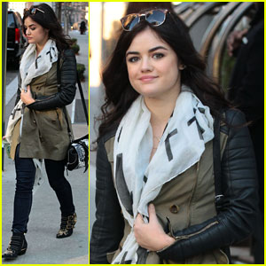 Lucy Hale Strives to be 'Daring' on the Red Carpet