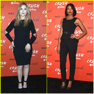 Kylie Bunbury & Maddie Hasson: Crush by ABC Family Launch Ladies