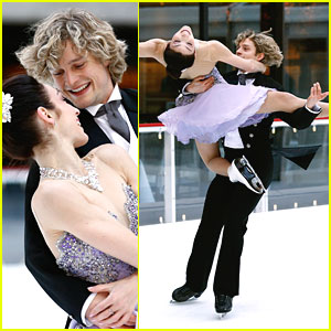 Meryl Davis & Charlie White: 'My Fair Lady' Performance on 'Today Show'