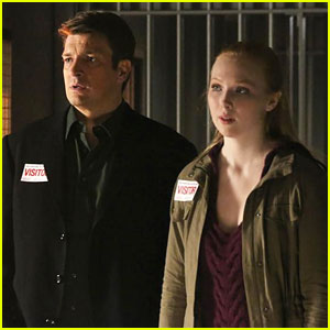 Molly Quinn: New 'Castle' Monday Night - See The Pics!