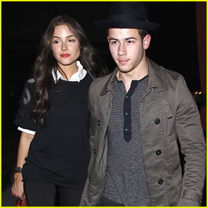 Nick Jonas & Olivia Culpo: Italian Dinner Duo