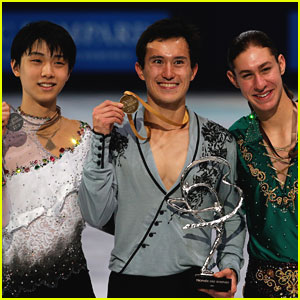 Patrick Chan Breaks World Records at Trophee Eric Bompard!