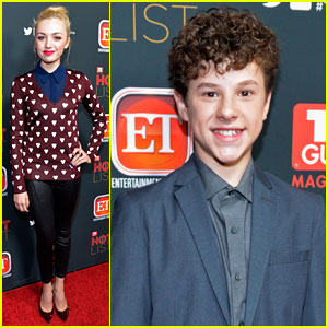 Peyton List & Nolan Gould: 'TV Guide' Hot List Party