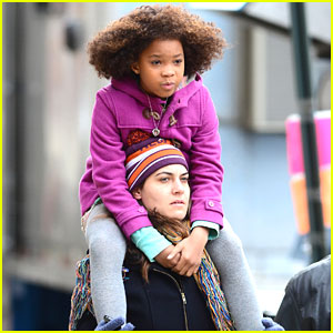 Quvenzhane Wallis: More Scenes For 'Annie'