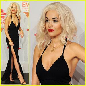 Rita Ora - MTV EMAs 2013