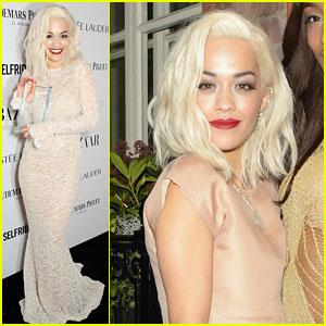 Rita Ora Wins at 'Harper's Bazaar' Women of the Year Awards 2013